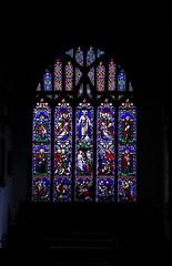 Stained Glass Window VII (Dr Nigel) Tags: richmond northyorkshire england yorkshire samsung nx11 mirrorless church stmary stmaryschurch window stained glass stainedglasswindow