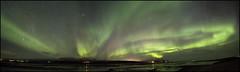 Pano Aurores-2 (frankastro) Tags: aurora aurore islande iceland night nuit astronomy astronomie astrophotography