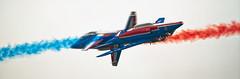 Patrouille de France (ludob2011) Tags: alphajet paf france patrouille dassault breguet airshow arméedelair aerobatic pentax bigma k7 airplane jet rennes avion