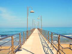 Pontile di Vasto (gabriele.romano@live.it) Tags: pontile vasto mare spiaggia marzo 2019 chieti abruzzo costa italy europe sea beach pier gabriele romano photo foto engineer