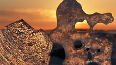 Ice and sun on the seashore (Lauttasaari, Helsinki, 20190224) (RainoL) Tags: crainolampinen 2019 201902 20190224 balticsea drumsö february finland fz200 geo:lat=6014482872 geo:lon=2488527498 geotagged hallonnäs helsingfors helsinki ice itälahti lauttasaari nyland sea seashore sunlight sunset uusimaa vattuniemi winter österviken fin