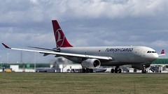 Turkish Cargo Airbus A330F TC-JDO at Stansted (CBGSpotter) Tags: turksih turkishairlines turkishcargo stansted stn stanstedairport planespotting spotting aviation airport avgeek avpics airbus airbusa330 a330243 avporn a330 a33200 tcjdo
