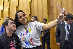 CAS - Dia Internacional da Síndrome de Down (Senado Federal) Tags: cas seminário evento comemoração diainternacionaldasíndromededown ninguémficapratrás pose foto brasília df brasil bra