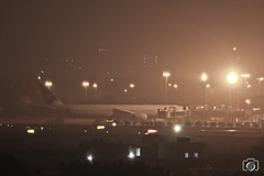 Quaid-e-Azam International Airport (SajjadClicks) Tags: nightscape rokinon samyang 800mm mirror lens karachi airport