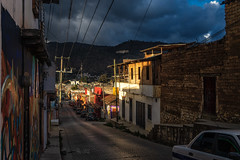 2018 Light is magic (jeho75) Tags: sony ilce 7m2 zeiss mexico san cristóbal de las casas mesoamerica town sunset evening architecture street scene