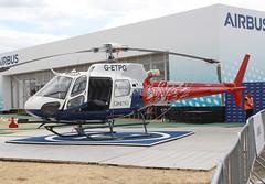2017 Airbus Helicopters AS350B3 Ecureuil G-ETPG - Qinetiq - Farnborough Airshow 2018 (anorakin) Tags: 2017 airbushelicopters as350 ecureuil getpg qinetiq farnboroughairshow 2018