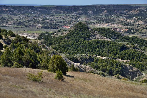 Painted Canyon and Views from Buck Hill (Theodore Roosevelt National Park)