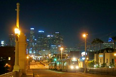 L.A. Arts District, .19/11 (Basic LA) Tags: dtla la downtownla losangeles socal california laartsdistrict firststreetbridge train metro
