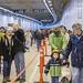 Walking in Seattle's newest tunnel