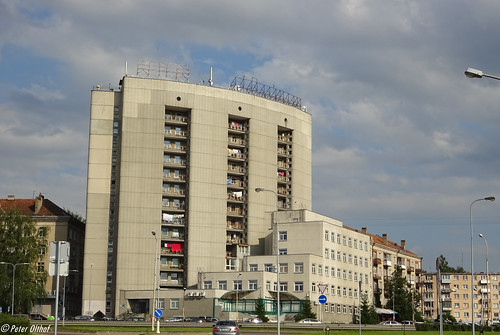 Architecture in Vilnius / Вильнюс ©  peterolthof