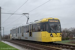 Manchester Metrolink 3120 (Mike McNiven) Tags: manchester metrolink metro tram lightrail lrv victoria baguley marketstreet airport manchesteraiprot
