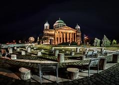 LRM_EXPORT_612392903677160_20190214_195528909 (Ferenc Ipolyi) Tags: esztergom hungary city landscape night church bazilika nikon d7500 samyang fisheye 8mm