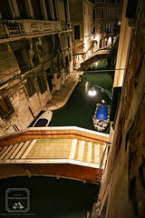 Kitchen View (fentonphotography) Tags: venice italy nightphotography nightscape nightshot cityscape bridge travel water boat canal