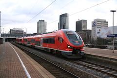 DB 632 604 en 632 114 te Dortmund HBF (vos.nathan) Tags: db deutsche bahn br 632 baureihe 604 114 pesa link dortmund hbf hauptbahnhof