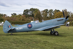 Supermarine Spitfire PRXI - 02 (NickJ 1972) Tags: shuttleworth collection oldwarden race day airshow 2018 aviation supermarine spitfire prxi pr11 xi gprxi pl983