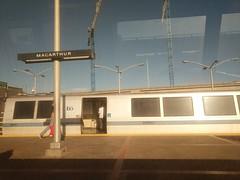 BART (Molly Des Jardin) Tags: bart metro lightrail transit publictransit oakland california train station macarthur usa