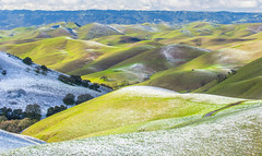 (Marc Crumpler (Ilikethenight)) Tags: landscape usa california bayarea sfbayarea eastbay contracostacounty livermore morganterritory marccrumpler eastbayregionalparkdistrict ebparksok ebrpd snow cold winter hills trees canon canon6d 6d 70300mmf456lisusm clouds