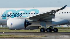 A330-800neo Airbus F-WTTO msn 1888 (Mav'31) Tags: lfbo tls toulouse blagnac airport airplane plane aircraft runway lineup spotter avgeek nikon sigmad7200 120400 mav31 jérômevinçonneau