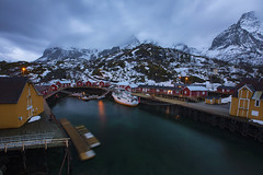 Nusfjord (yan08865) Tags: norway lofoten village islands water waterfront sea landscape dusk travel sunrtise yiannis pavlis nusfjord seascape canon wide solo mountains nordic