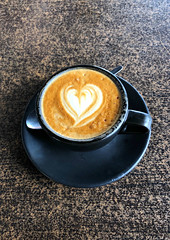 2019 Sydney: Love My Coffee (dominotic) Tags: 2019 food coffee mezzapicacafenortonstreetleichhardt flatwhite iphone8 foodphotography yᑌᗰᗰy coffeeobsession sydney australia