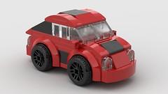 vw_kafer (dimkablinov) Tags: lego moc vehicle car volkswagen beetle kafer