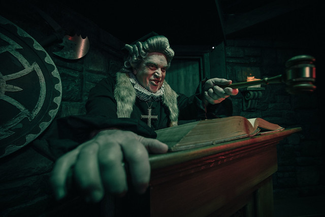 The Alton Towers Dungeon - The Judge