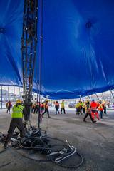 Alegria (Benoit Z Leroux) Tags: cirque circus circo cirquedusoleil vieuxport vieuxportdemontréal chapiteau bigtop alegria alégria cds montréal québec