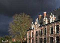 Juste avant l'orage (DOMVILL) Tags: france nord wambrechies arbre chateau ciel domvill nuages orage wwwflickrcompeoplevildom robersart