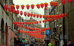 Chinatown, London (Tony Worrall) Tags: london city capital southeast south southern candid people gather tourist update place location uk england visit area attraction open stream tour country item greatbritain britain english british gb capture buy stock sell sale outside outdoors caught photo shoot shot picture captured ilobsterit instragram chinatown lanters red hang hanging street road celebrate redlantern