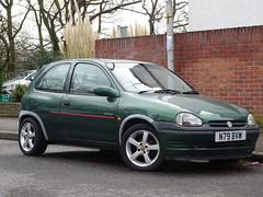 1995 Vauxhall Corsa 1.4 16v Sport (Neil's classics) Tags: vehicle 1995 vauxhall corsa 14 16v sport car