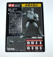 megatron transformers masterpiece mp 36 takara tomy 2017 43 (tjparkside) Tags: megatron transformers g1 series 1 1984 hasbro masterpiece mp 36 takara tomy 2017 transformer 2018 tf tak decepticon decepticons cartoon movie collector collectors card alternate face faces blaster pistol destron leader energy mace chain laser dagger sword key vector sigma faceplate smile crying damage damaged scope stock silencer walther p38 p 38 normal chest headgear nuclear charged fusion cannon