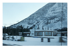 Drive-by Canada (Robert Drozda) Tags: alaskahighway toadriver britishcolumbia canada building services motel winter snow ttw driveby fbxtopdx2018 drozda