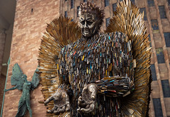 The Knife Angel, Coventry (ChrisLloydPhotography) Tags: coventry theknifeangel knifeangel cathedral stmichaels