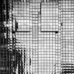 Building Abstract #102 (Joseph Pearson Images) Tags: building architecture abstract square covellmatthewspartners blackandwhite mono bw