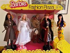 FASHION PLAZA BUZZ! (ModBarbieLover) Tags: superstar barbie doll italian ken oriental 1979 1980 1981 fashion mattel plaza shopping bridal salon 70s