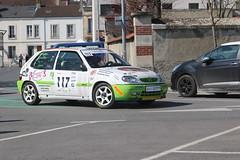 Citroen Saxo VTS 16v - Brantais Gaetan / Geraldine - 117 (CHRISTOPHE CHAMPAGNE) Tags: 2019 epernay rallye champagne asacc 23 france course automobile citroen saxo vts 16v brantais gaetan geraldine117