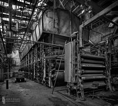 The Boxboard Beast (billmclaugh) Tags: industry paper pulp mill warehouse ohio abandoned urbanexploration urbex ue machinery rust decay shadows derelict debris canon 5dmiii tse24mmf35lii tiltshift highdynamicrange hdr adobe lightroom photoshop on1 perfecteffects