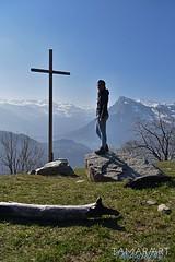 Wanderlust (tamaraart-photography) Tags: nikond750 nikon photo photography me natur bündnerland graubünden kreuz gipfel bergwelt berge wanderlust wandern