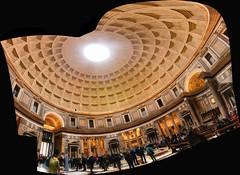 Pantheon, Rome, Italy (Diacritical) Tags: panorama nikon nikond850 2470mmf28 24mm f71 ¹⁄₂₅sec 2500 rome pantheon