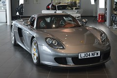Porsche Carrera GT (CA Photography2012) Tags: lj04nfw porsche carrera gt v10 hypercar supercar sportscar silver limited edition special rare german super sports ca photography automotive exotic car spotting automobile vehicle