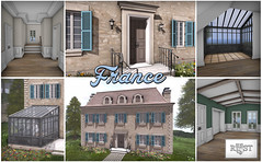 France - Around The World (...ROOST...) Tags: roost custom mesh residence house home france french english country paris abode landscape yard manor mansion maison