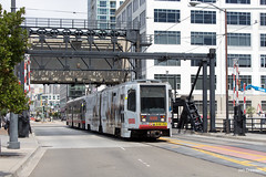San Francisco (Jan Dreesen) Tags: sf san francisco california californië usa united states vs verenigde staten amerika america openbaar vervoer transport public transit municipal railway muni tram light rail stadtbahn metro subway t third street bridge