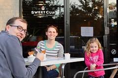 Sweet Cup (Piedmont Fossil) Tags: kelly glenn teagan gelato icecream
