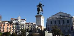 Monumento Felipe IV Fuente Rio Jarama Plaza Oriente Madrid 3 (Rafael Gomez - http://micamara.es) Tags: monumento felipe iv fuente rio jarama plaza oriente madrid
