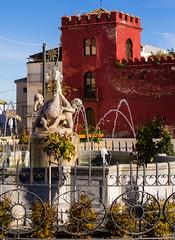 Spain - Granada - Alhama (Marcial Bernabeu) Tags: marcial bernabeu bernabéu europe europa spain españa andalucia andalucía andalusia granada alhama cisne fountain fuente paseo swan