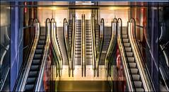 - Rolltreppen - (antonkimpfbeck) Tags: rotterdam markthalle rolltreppen architektur art fujifilm