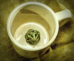 Froggy Mug (clarkcg photography) Tags: mug favoritemug fun prank trick frog crazytuesday