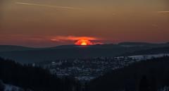 Good Night (Deutscher Wetterdienst (DWD)) Tags: weather himmel sky sonnenuntergang sunset winter abendstimmung eveningmood