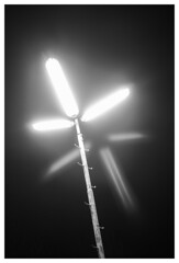 Leystraße, Leopoldstadt, Wien (KarlOplustil) Tags: stadt city nacht night wien vienna vienne österreich austria autriche longexposure langzeitbelichtung lights licht lichter laterne streetlight lampe lamp parkinglot parkplatz leopoldstadt