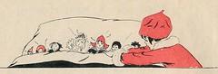 sijtje  Aafjes  Nieuwe oogst voor de kleintjes 1925, ill pg 44 (janwillemsen) Tags: sijtjaafjes bookillustration 1925 schoolbook childrensbook